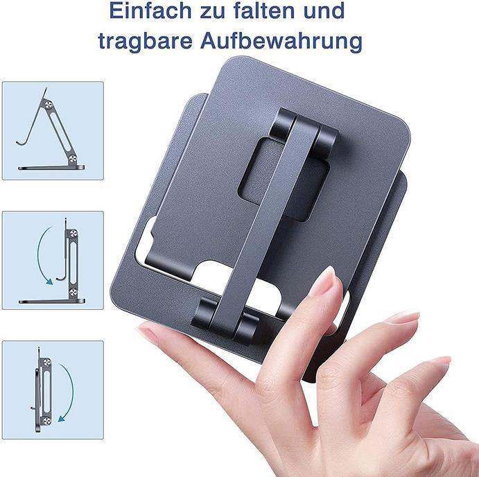 Luxsure   Höhenverstellbaren Tabletständer aus Aluminium für 10,43€ (statt 17€)