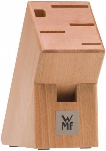 WMF Cuisine One Messerblock mit Messerset 6 teilig   Performance Cut Klingen für 89,99€ (statt 142€)