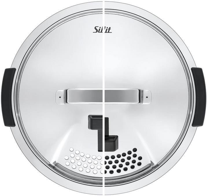 Silit   4 teiliges Topfset mit Metalldeckel Nature Green für 215,55€ (statt 284€)