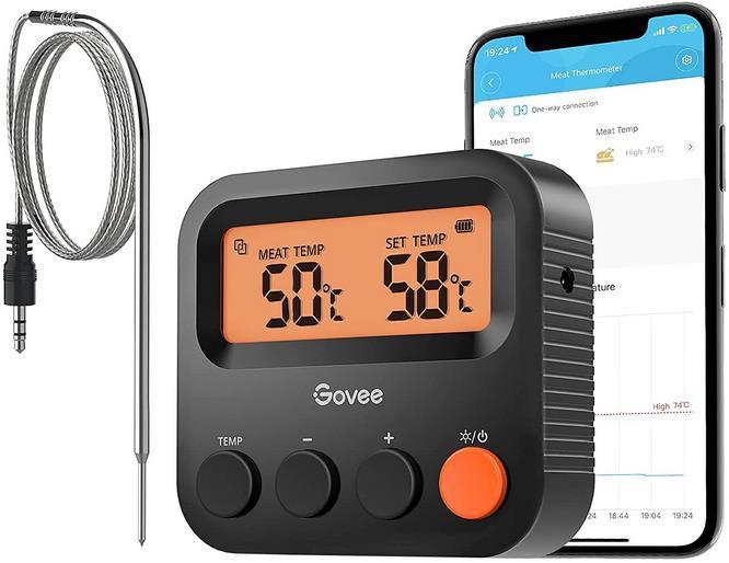 Govee Bluetooth Grillthermometer   Kabellos bis 70m für 13,99€ (statt 20€)