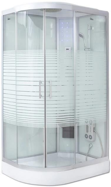 Home Deluxe Duschkabine White Pearl in 120 x 80 cm für 659,99€ (statt 770€)