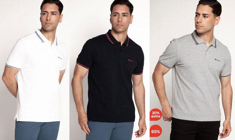 2er Pack: Ben Sherman Poloshirts in 3 Farben zur Auswahl für 44,57€ (statt 70€)
