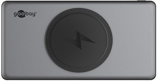 Goobay Wireless Quick Charge 3.0 Powerbank 10.0 (10.000 mAh) für 18,96€ (statt 26€)