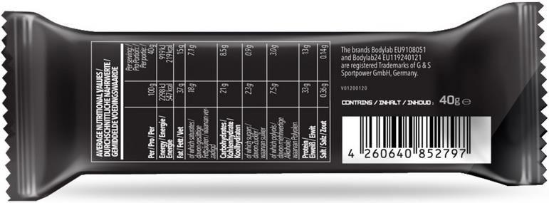 Bodylab High Protein Wafer (12x40g)   Waffelriegel für 14,89€ (statt 26€)