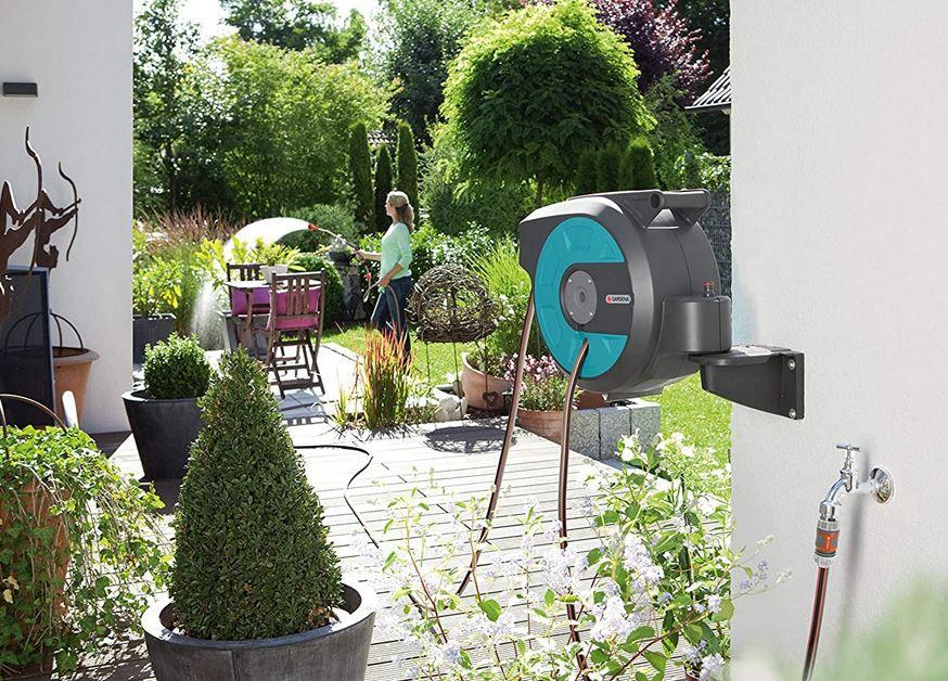 Gardena Wand Schlauchbox 15 roll up automatic für 89,95€ (statt 164€)