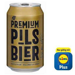 Lidl Plus App: gratis Perlenbacher Bier ab 10€ Einkauf