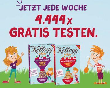 W.K. Kellogg® by Kids Cerealien kostenlos ausprobieren
