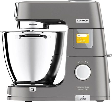 KENWOOD KWL90.124SI Titanium Chef Patissier XL Küchenmaschine für 679,07€ (statt 820€)