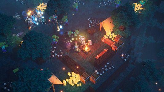 Minecraft Dungeons (IMDb 6,6) gratis für Nintendo Switch Online Mitglieder
