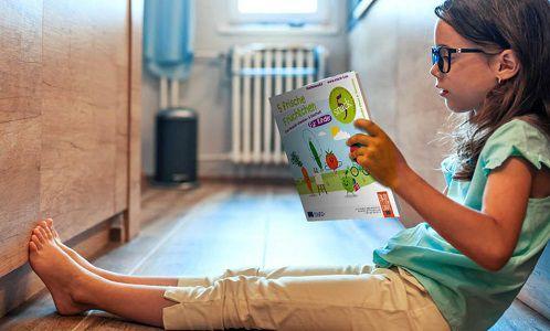 Buntes Snack5 Mitmachheft für Kinder gratis abholen