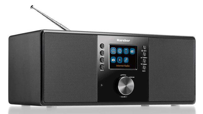Karcher DAB 7000i Internetradio mit DAB+ für 89,99€ (statt 110€)