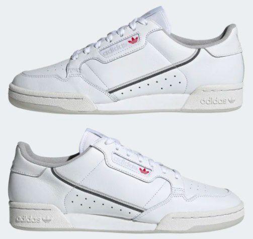 adidas Continental 80 Sneaker in vielen Größen für 52,47€ (statt 75€)