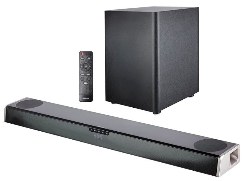 Medion S61388 2.1 Soundbar mit Subwoofer für 132,94€ (statt 180€)