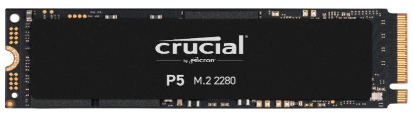 Crucial P5 NVMe M.2 SSD mit 500GB für 49,99€ (statt 60€)