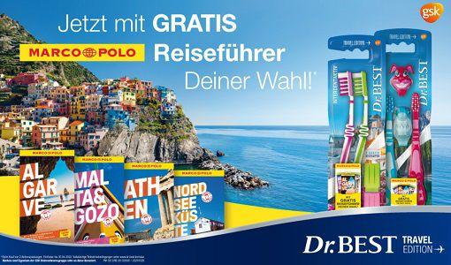 Dr. BEST Zahnbürsten kaufen   Reiseführer gratis abholen