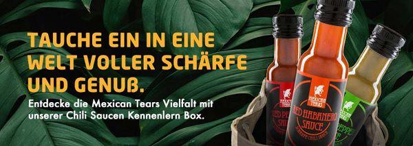 Probierpaket von Mexican Tears kostenlos (statt 15€)    zzgl. 4,90€ VSK