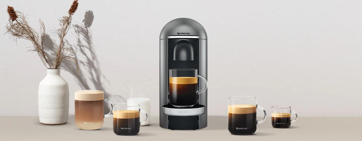 Nespresso Vertuo Plus Kapselmaschine gratis (statt 126€) beim Kauf von 300 Kapseln für 160,50€
