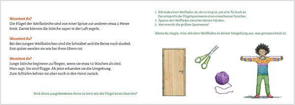 Pixi Heft Materialien für den Kindergarten: Karls klappernde Kinder – Lernheft Weißstorch gratis