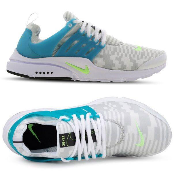Nike Air Presto Sneaker in White/Aqua für 59,99€ (statt 90€) – Restgrößen!