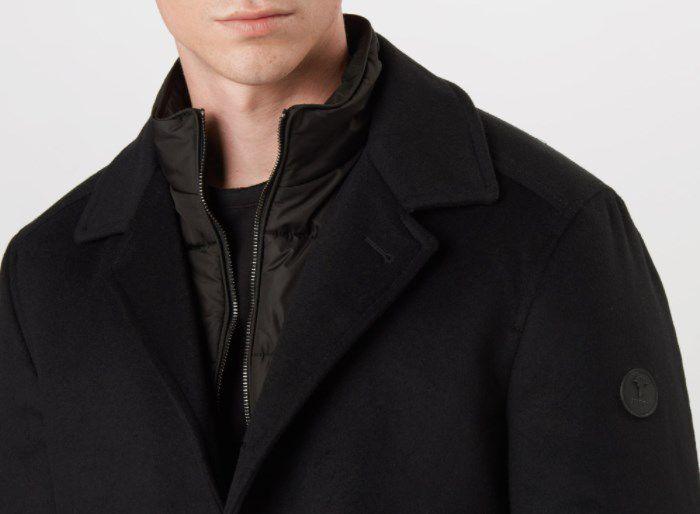 JOOP! Mantel Dannito in Schwarz für 319,20€ (statt 400€)