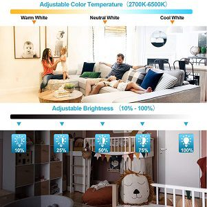 Traminy LED Deckenleuchte (dimmbar)   verschiedene Modelle ab 20,99€