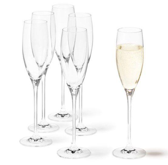 6er Set: Leonardo Cheers Sekt Gläser (je 220ml) für 12,78€ (statt 32€)   Prime