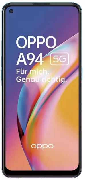 Media Markt Will ich. Krieg ich. Aktion   z.B. OPPO A94 5G Phone 128GB für 285€ (statt 332€)