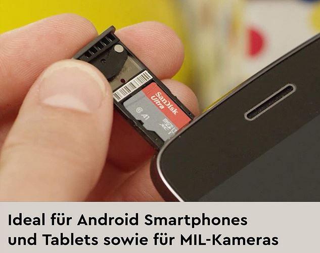 SANDISK Ultra PLUS 400GB microSD Karte ab 39€ (statt 47€)