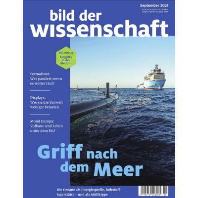 14 Ausgaben Bild der Wissenschaft für 121,55€ + Prämie: 115€ BestChoice Gutschein