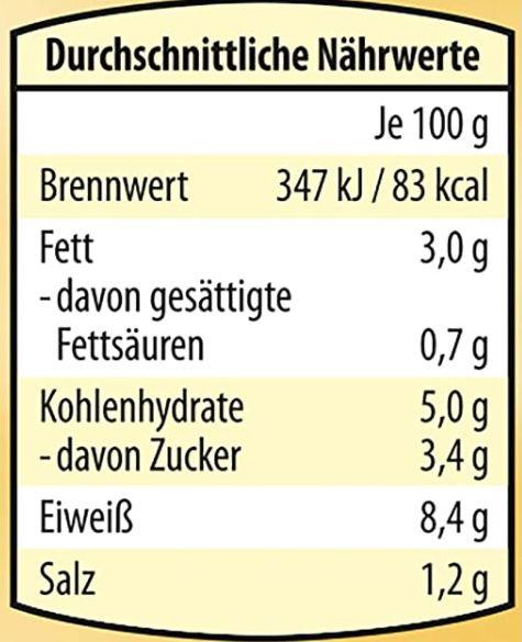 5x Dreistern Sauerbraten Gulasch (je 400g) für 12,34€ (statt 16€)   Prime Sparabo