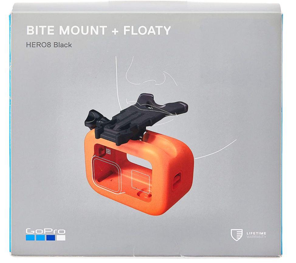 GoPro Mundhalterung + Floaty (HERO8 Black) für 10€(statt 40€)   Prime