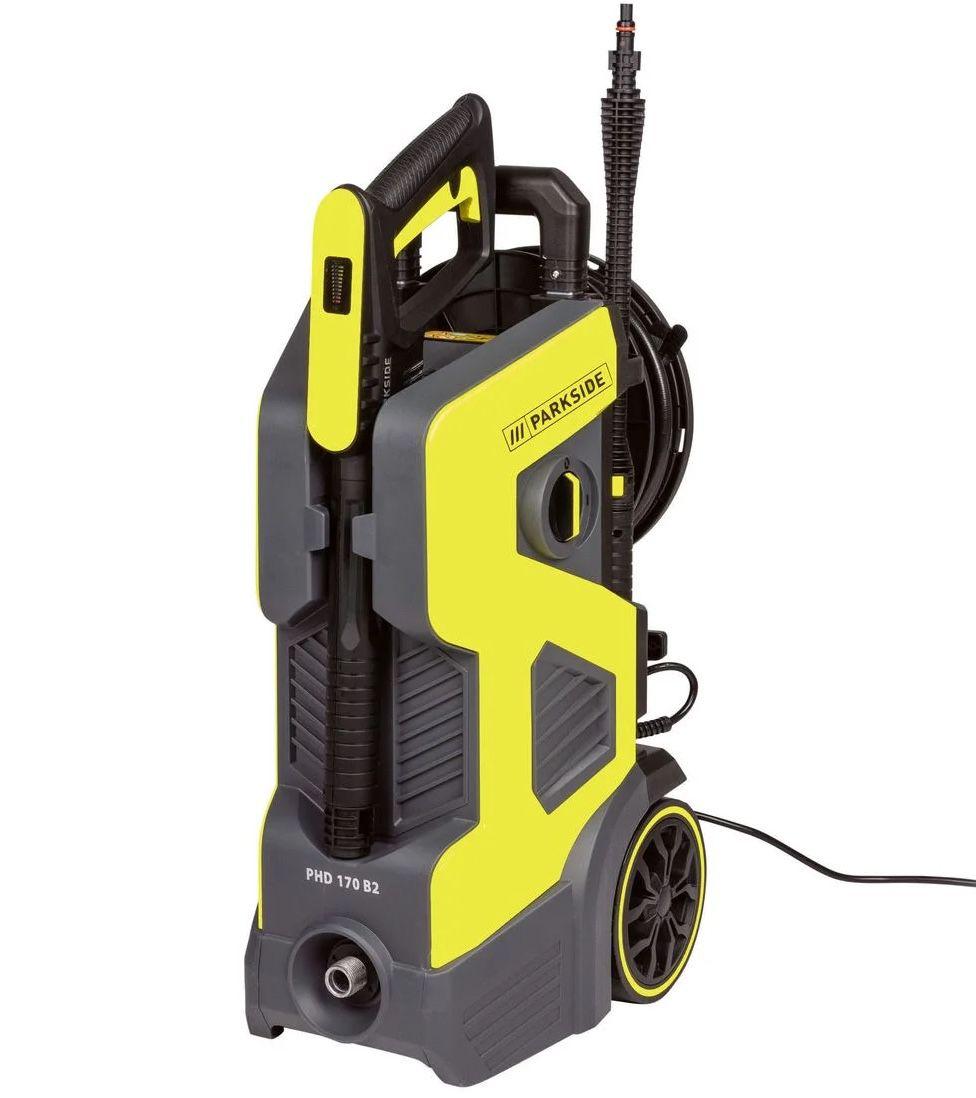 Parkside PHD 170 B2 Hochdruckreiniger mit max. 500 l/h ab 99,99€ (statt 161€)