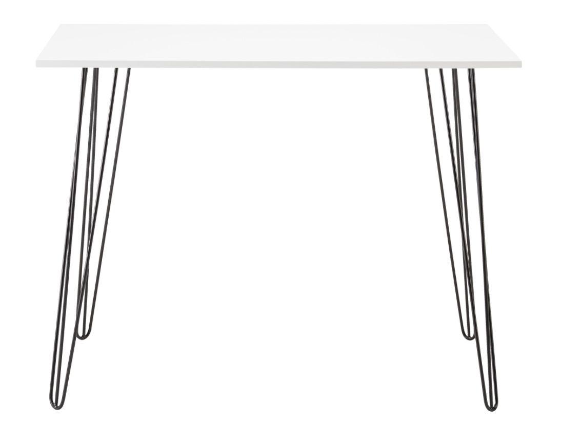 Bessagi Home Schreibtisch Marc in Weiß für 40,88€ (statt 56€)