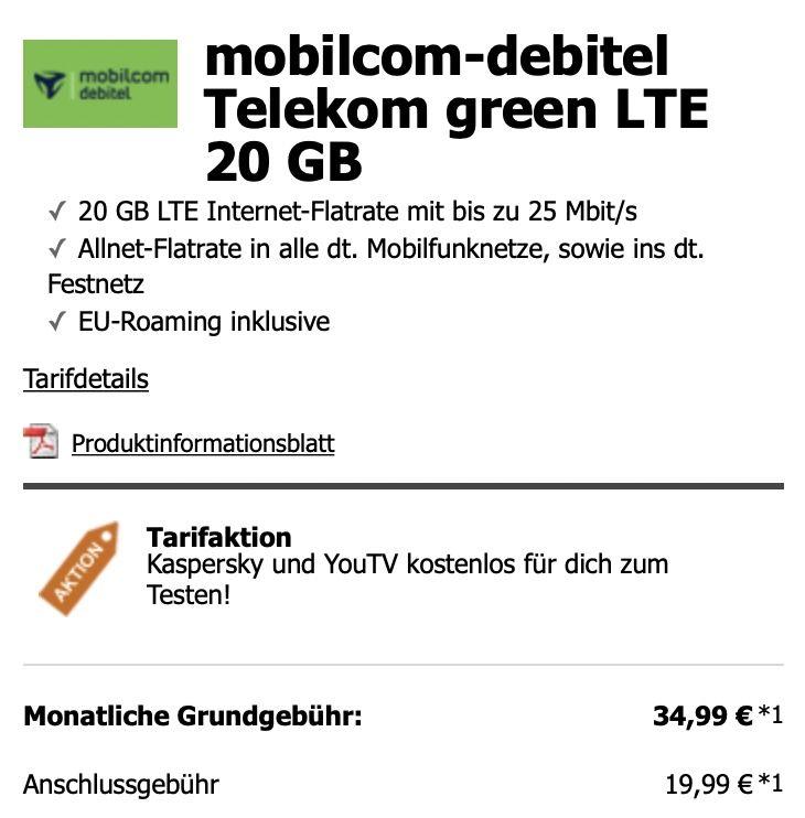 Motorola Edge 20 Pro 5G 256 GB in Midnight Blue für 49€ + md Telekom green LTE 20GB für 34,99€ mtl.