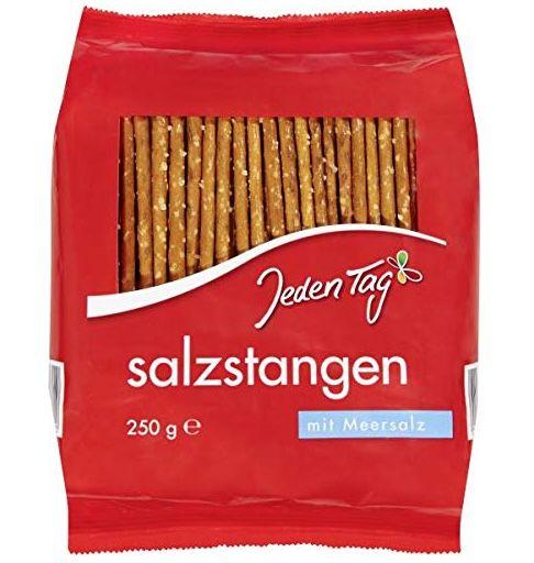 5x Jeden Tag Salzstangen (je 250g) für 1,56€ – Prime