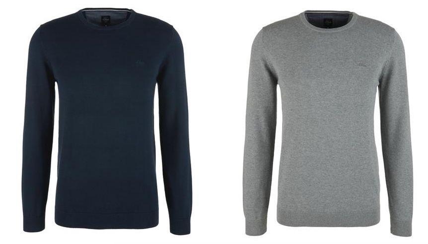 🔥 3er Pack s.Oliver Pullover aus 100% Baumwolle für 50€ (statt 90€)