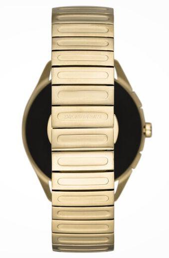 Emporio Armani Connected Herren Smartwatch Matteo in Gold für 249€ (statt 371€)