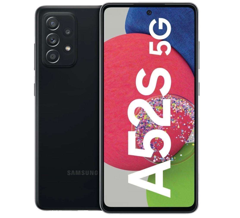 Samsung Galaxy A52s 5G mit 128GB für 1€ + o2 Allnet-Flat mit 12GB LTE für 19,99€ + gratis Google Nest Hub