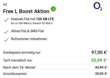 KNALLER 🔥 Samsung Galaxy Z Flip 3 5G für 97€ + o2 Allnet Flat mit 120GB LTE/5G für 35,99€ mtl.