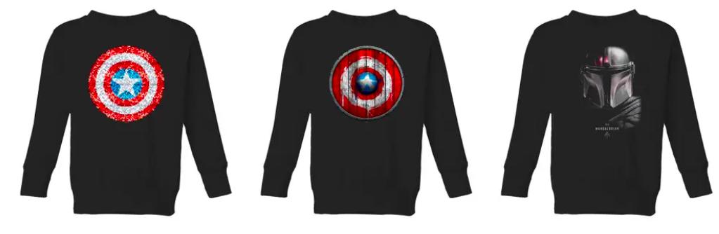 2er Pack Kinder Pullover/Sweatshirts für nur 24€ (statt 46€)   über 170 Motive!