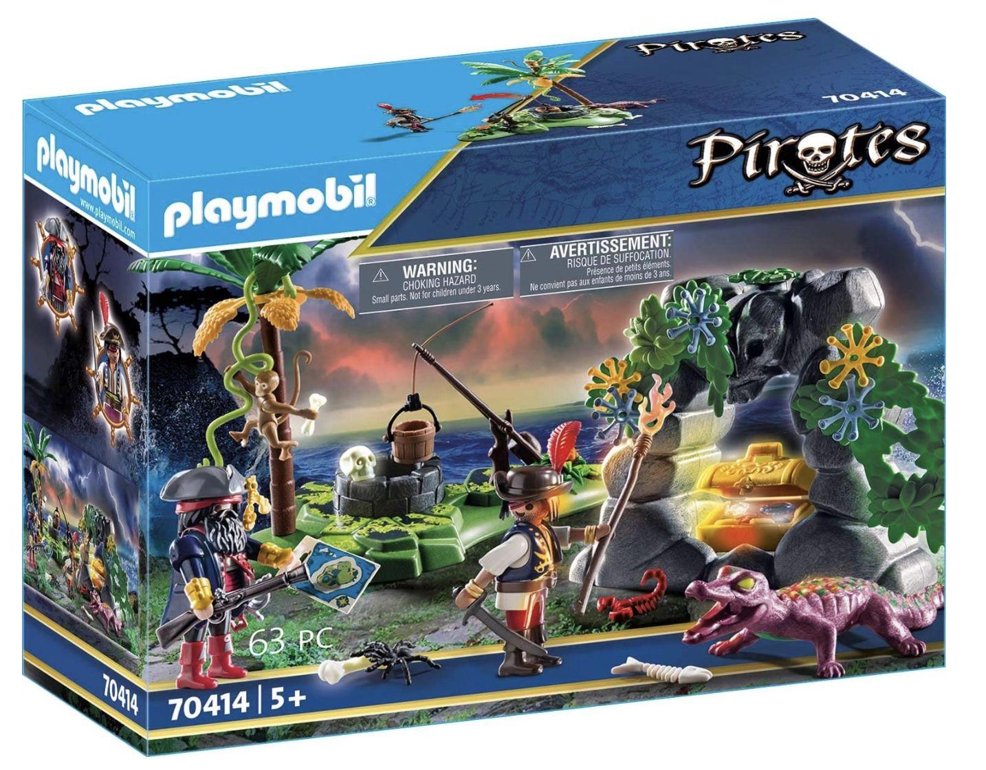 PLAYMOBIL 70414 Piraten Schatzversteck für 7,99€ (statt 12€)   Prime