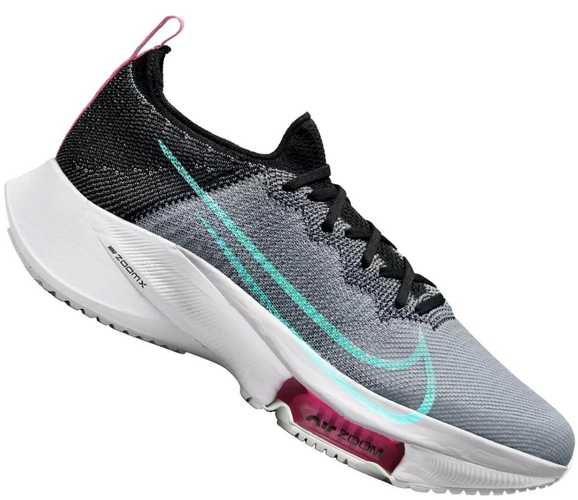 Nike Laufschuh Air Zoom Tempo NEXT% in Schwarz/Türkis für 139,95€ (statt 200€)