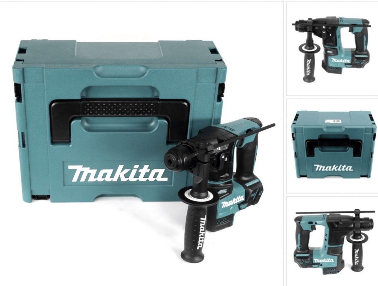 Makita DHR171ZJ SDS-Plus bürstenloser Bohrhammer + Makpac-Koffer ohne Akku & ohne Ladegerät für 139€ (statt 171€)