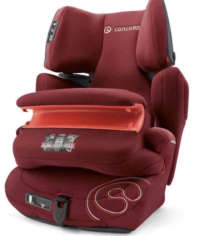 Concord Transformer Pro Kindersitz in Bordeaux für 80,99€ (statt 156€)