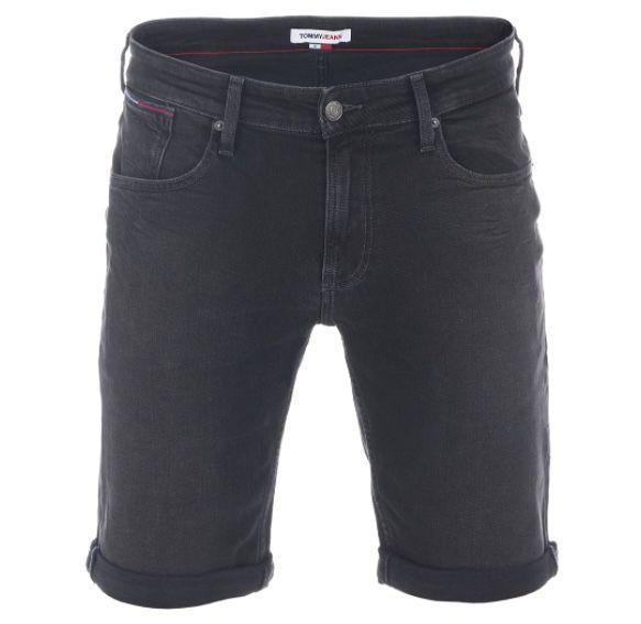 2x Tommy Jeans Herren Jeans Short Ronnie in Schwarz für 36,97€ (statt 60€)