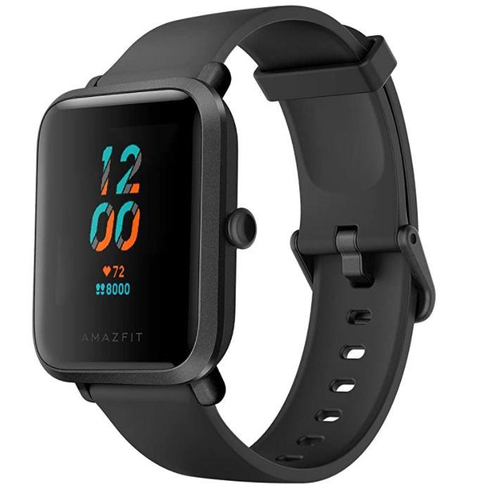 Amazfit Bip S Smartwatch in Schwarz für 29,37€ (statt 50€)