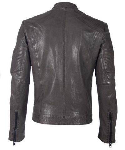 Gipsy Herren Lederjacke G2bargot im Biker Look für 94,99€ (statt 120€)