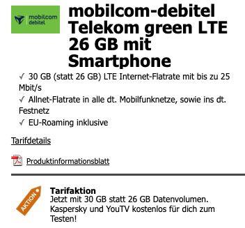 Sony Xperia 5 III + WH H910N Noise Cancelling Kopfhörer für 4,99€ + Telekom Allnet Flat mit 30GB LTE für 49,99€ mtl.