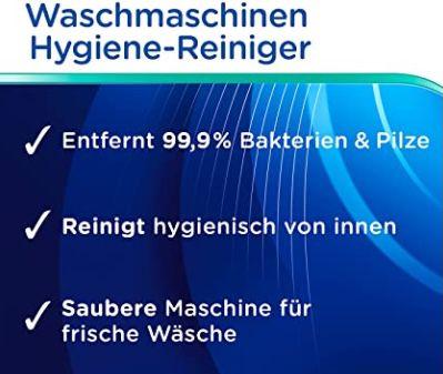 4x Dr. Beckmann Waschmaschinen Hygiene Reiniger für 6,37€ (statt 9€)   Prime Sparabo