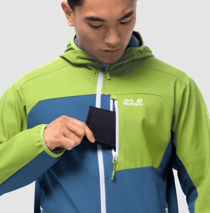 Jack Wolfskin Eagle Peak II Softshell Jacke in 2 Farben für je 87,90€ (statt 107€)